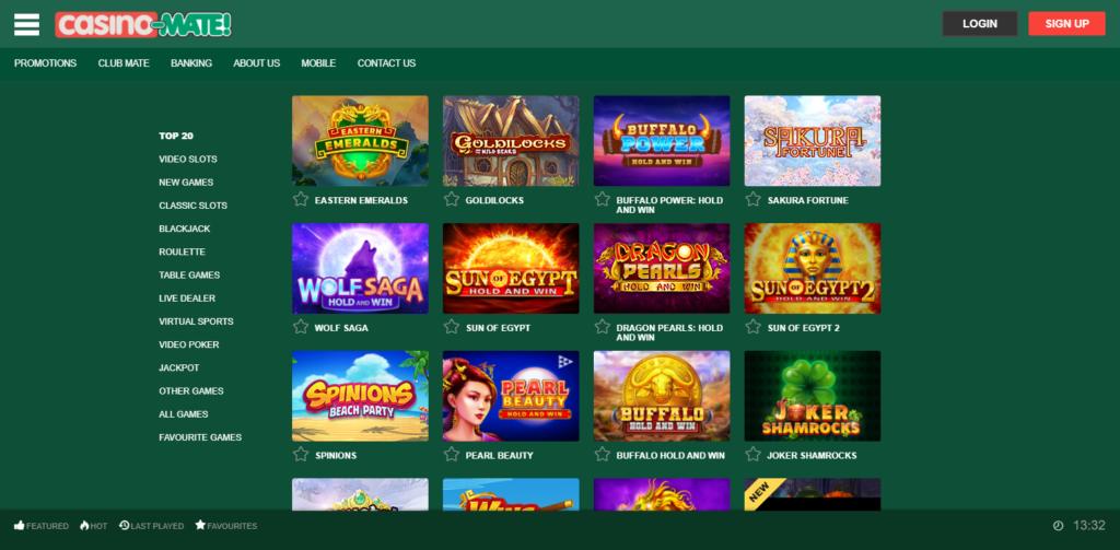 Casino-Mate Games